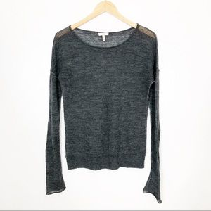 Joie   Light Cashmere Blend Sweater Pullover
